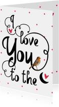 Valentijnskaart to the moon - LO