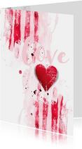 Valentijnskaart Valentijn Hart