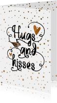 Valentine koper confetti - LO