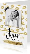 Valentinskarte mit Foto 'Allerbeste Freundin'