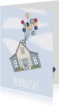 Verhuisd ballonnen - LF