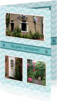 Verhuiskaart Foto Collage