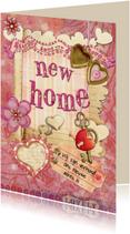 Verhuiskaart scrapbook 1 SG