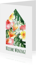 Verhuiskaart Tropical - WW