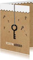 Verhuiskaart voor adreswijziging