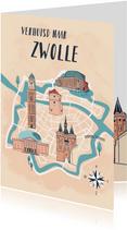 Verhuizen naar Zwolle