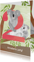 Verjaardag 2 jaar - koala's