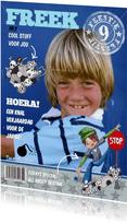 Verjaardag FEEST skater Eigen Foto B