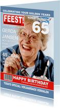 Verjaardag FEEST Tijdschrift