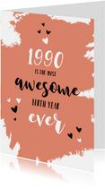 Verjaardag geboortejaar 1990 belangrijke nieuwsfeiten