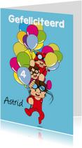 Verjaardagskaarten - Verjaardag gefeliciteerd A3