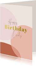 Verjaardag Happy Birthday Lovely