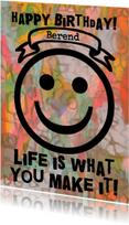 Verjaardag Happy Life IW