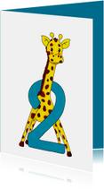 Verjaardag kind 2 jaar giraf - HR