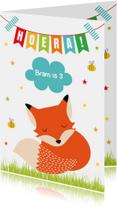 Verjaardag Kind vosje slinger