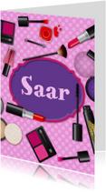 verjaardag meisje tiener makeup