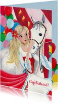 Verjaardag Paarden Meisje