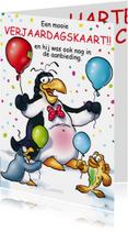 Verjaardag pinguins ballonnen