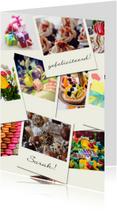 Verjaardagskaarten - Verjaardag Polaroid foto's - DH