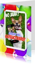 Verjaardag selfie ballonnen RB