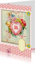Verjaardagskaart 50 - SG