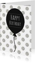 Verjaardagskaart Ballon - WW