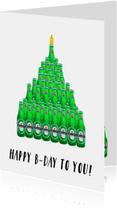 Verjaardagskaart Biertaart