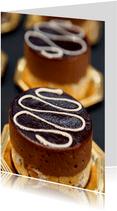 Verjaardagskaart Choco feest OT