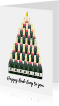 Verjaardagskaarten - Verjaardagskaart Happy Bub Day