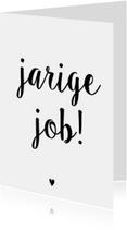 Verjaardagskaart Job