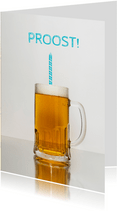 Verjaardagskaart voor bierliefhebber
