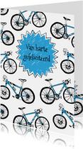 Verjaardagskaart wielrennen