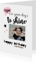 Verjaardagskaart your day