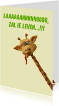 Verjaarsdag Giraffe