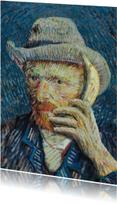 Vincent van Gogh met banaan
