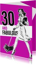Vintage 30 vrouw