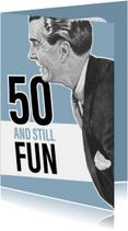 Vintage man 50