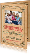 Vintage poster High Tea 1LS3