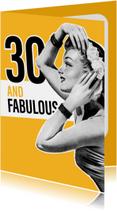 Vintage vrouw 30