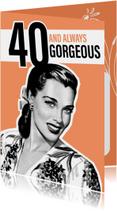 Vintage vrouw 40