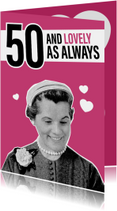Vintage vrouw 50