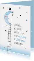 Voor de baby maan sterren jongen