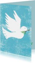 Vredes duif blauw