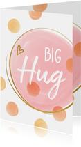 Vrolijke kaart Big Hug
