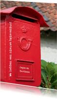 We hebben een nieuwe brievenbus
