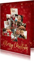Weihnachtskarte eigene Fotos Merry Christmas