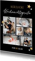 Weihnachtskarte Weihnachtsgrüße eigene Fotos