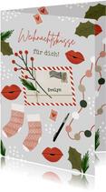Weihnachtskarte Weihnachtspost