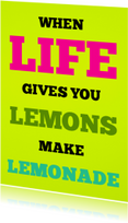 When life gives you lemons - SK