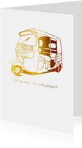 Wil je met me tuktukken?